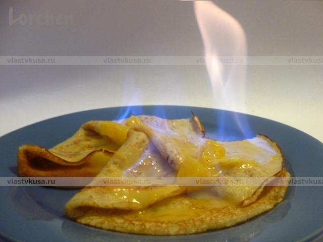 Пошаговое фото рецепта блинов