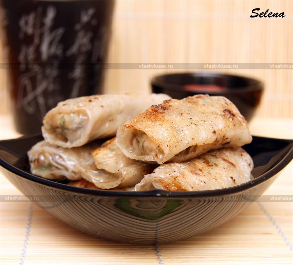 Рецепт с рисовой бумагой пошаговое фото