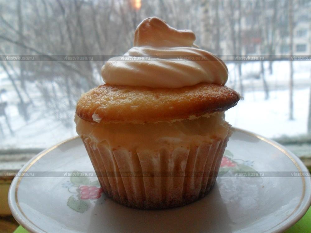 Медовые капкейки рецепт с фото