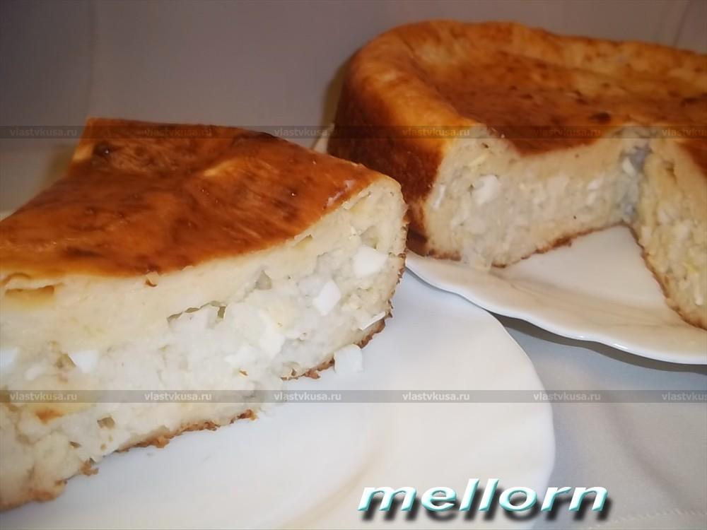 Пирог из ряженки на скорую